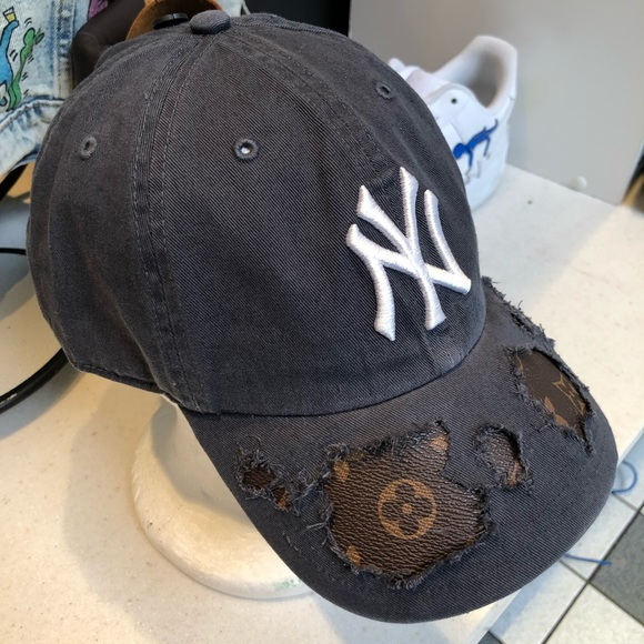 2937b8eb928 NY Yankees X Louis Vuitton Custom Hat